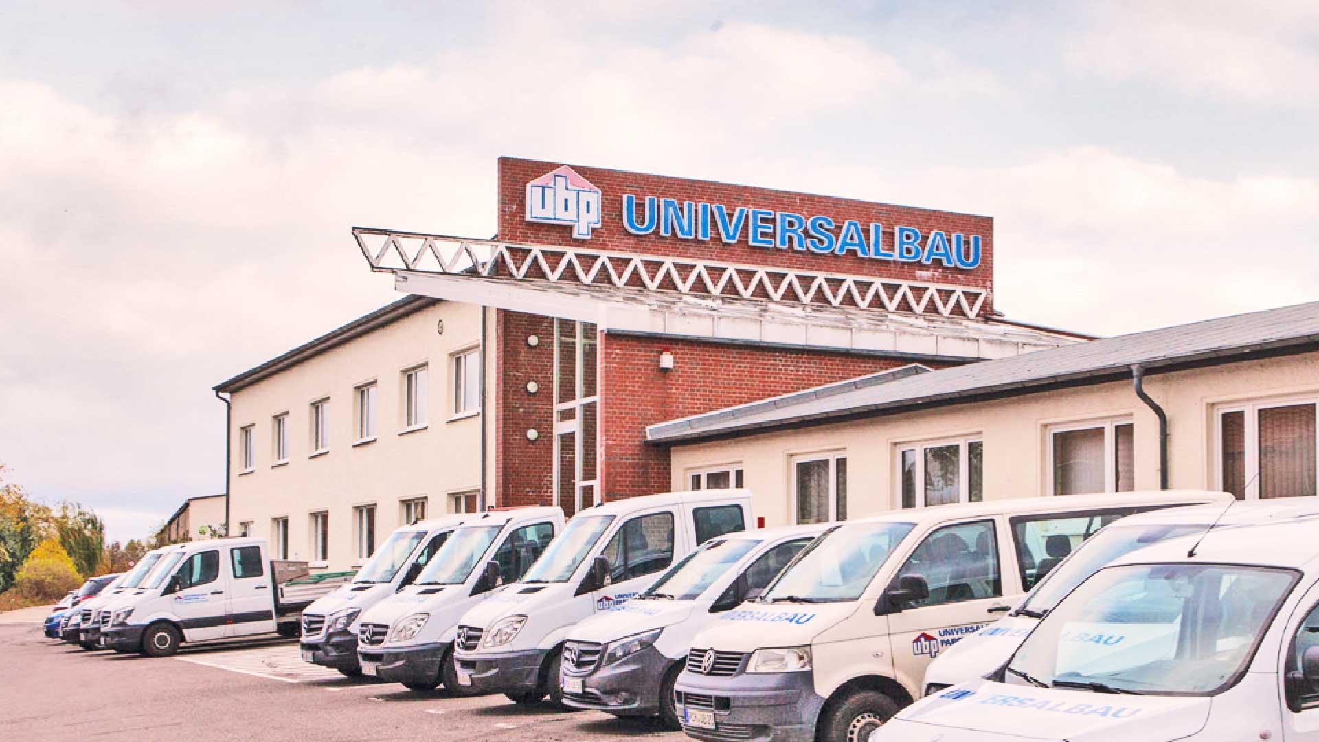 Firmengebäude der Universalbau Parchim GmbH